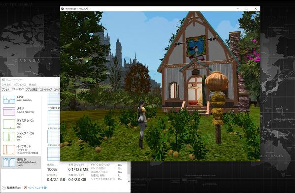 ArcheAge Core i3 intel HD4600