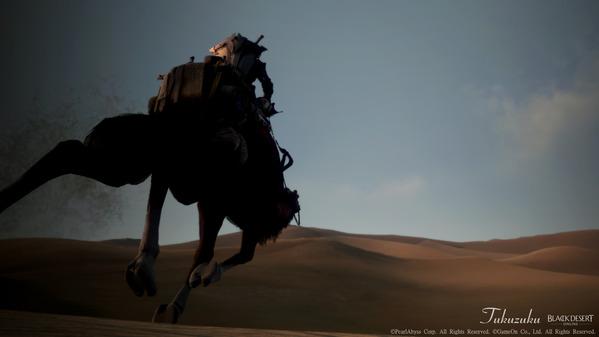 黒い砂漠 ウォーリア ラクダ