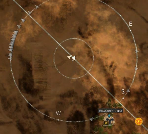 黒い砂漠 巡礼者の聖所 謙遜01