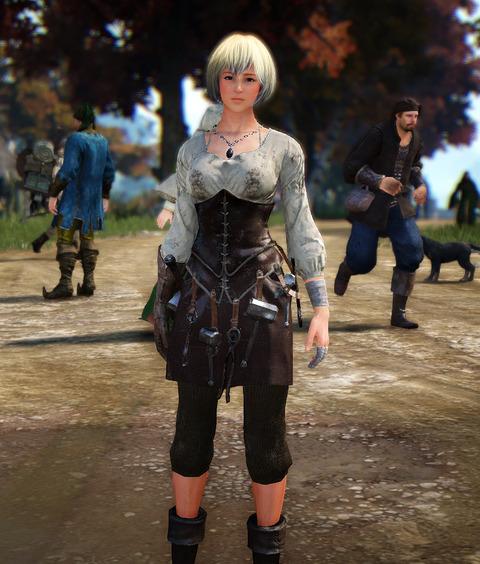 黒い砂漠 セレンディア鉄匠服
