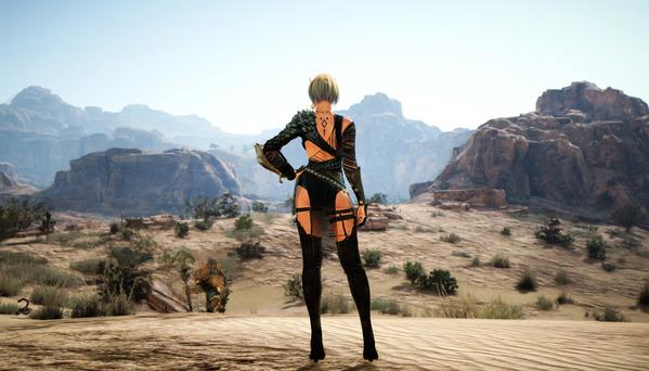 黒い砂漠 ヴァルキリー フォールンガルザル 砂漠ナーガ聖殿