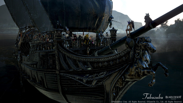 黒い砂漠 オーキルアの目 宝箱狩り重帆船ツアー10