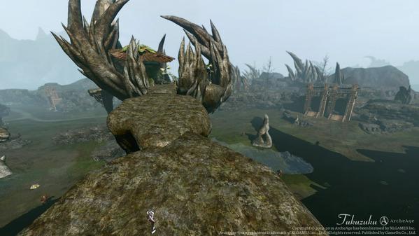 ArcheAge 枯れた島