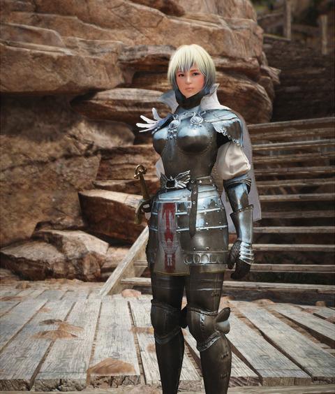 黒い砂漠 デルペ騎士団服