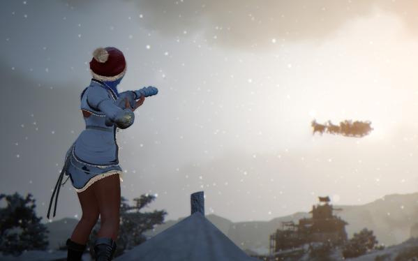 黒い砂漠 クリスマス サンタクロース