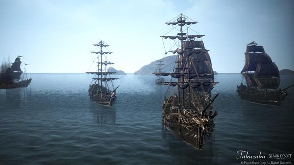 黒い砂漠 海賊エモツアー10