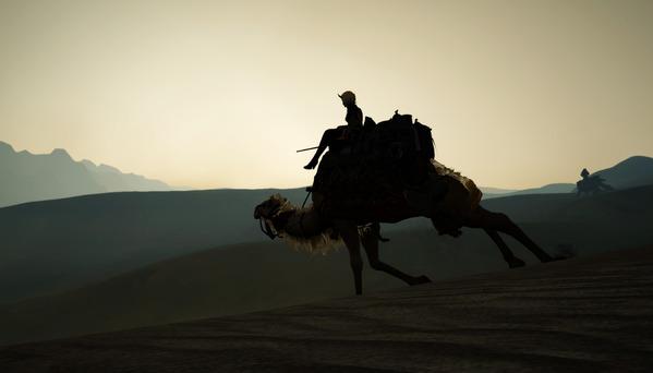 黒い砂漠 ラクダ バレンシア大砂漠