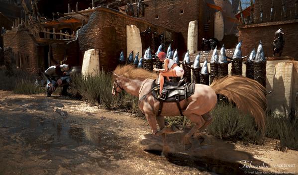 黒い砂漠 馬放置