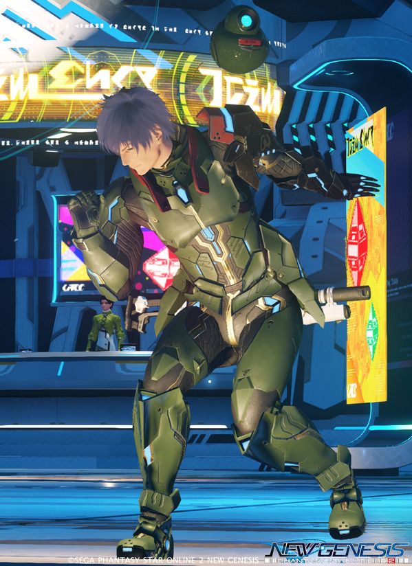 PSO2NGS ヒューマン キャラメイク
