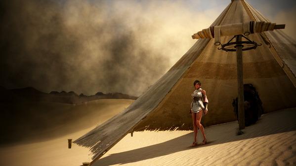 黒い砂漠 砂嵐 砂漠テント道具