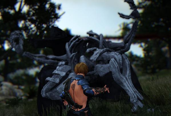 BlackDesert Sorceress 闇の精霊