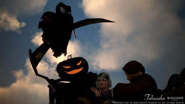 黒い砂漠 ウィッチ ハロウィン装飾
