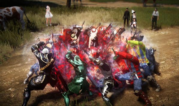黒い砂漠 爺おっさん撮影会09