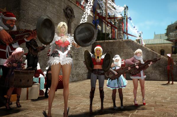 黒い砂漠 クリスマス撮影会23