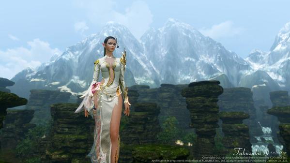 ArcheAge エルフ ロータスドレス ロカの一手