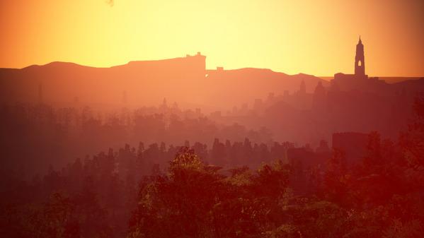 黒い砂漠 カルフェオン 夕陽