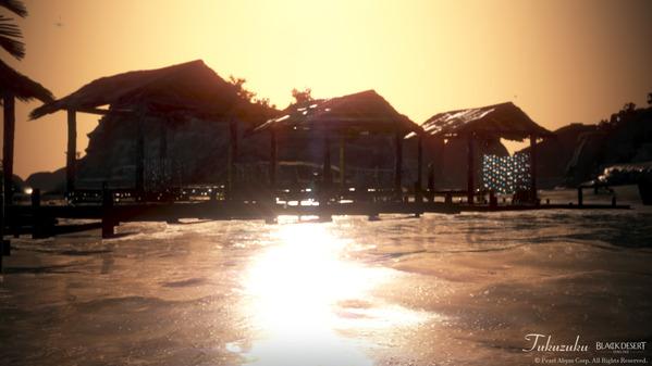 黒い砂漠 テルミアンウォーターパーク