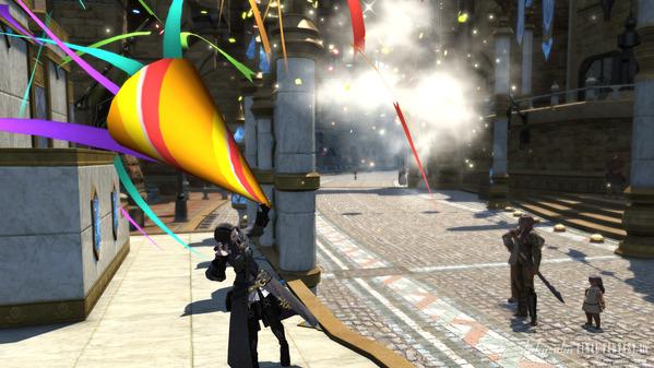 FF14 新生祭 ヘブンスクラッカー