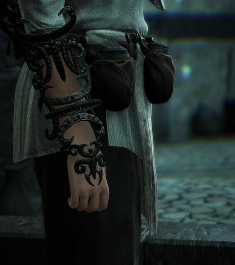 BlackDesert Sorceress シェフ服