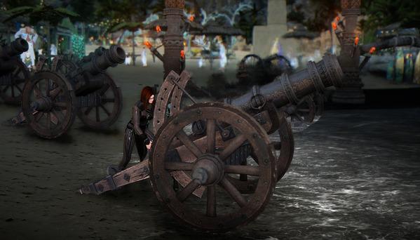 黒い砂漠 テルミアンウォーターパーク 大砲