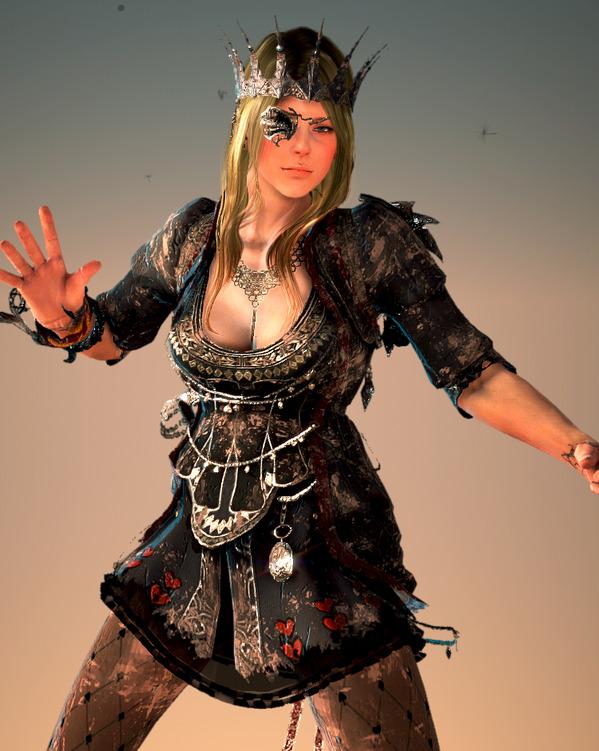 黒い砂漠 ソーサレス 闇の女王