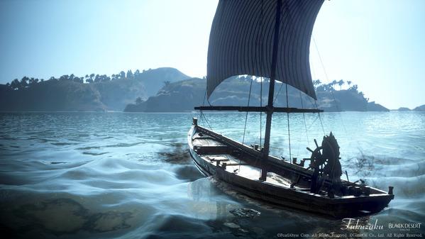 黒い砂漠 漁船