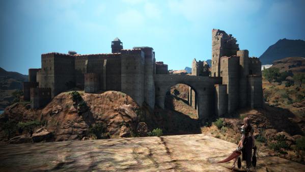 黒い砂漠 未実装エリア 城