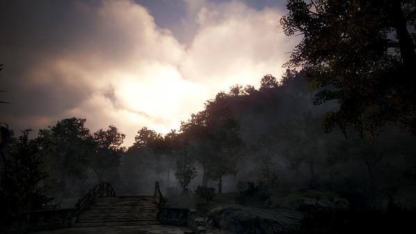 黒い砂漠 夕陽