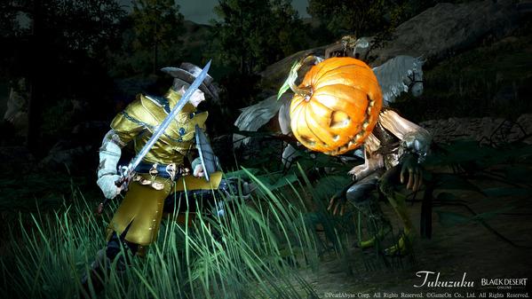 黒い砂漠 ハロウィン いたずらなかぼちゃオバケ
