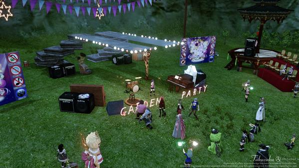 ArcheAge ガーデンパーティ002