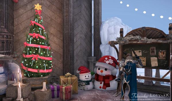 LostArk クリスマス スノーマンアイランド