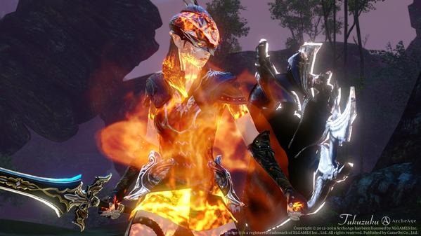 ArcheAge エルフ 聖騎士