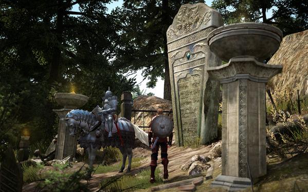黒い砂漠 ウォーリア 覚醒クエスト 謎の騎士