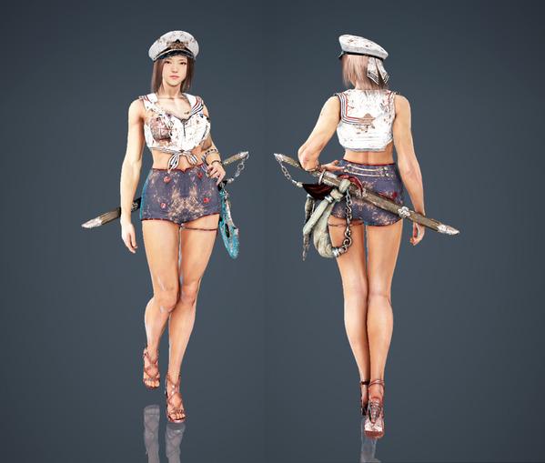 Black Desert Online Lahn Epheria Marine Fashion