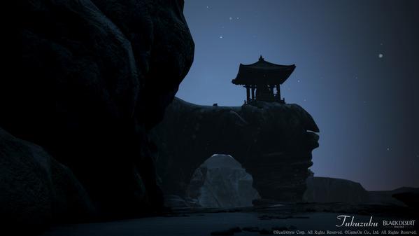 黒い砂漠 除夜の鐘