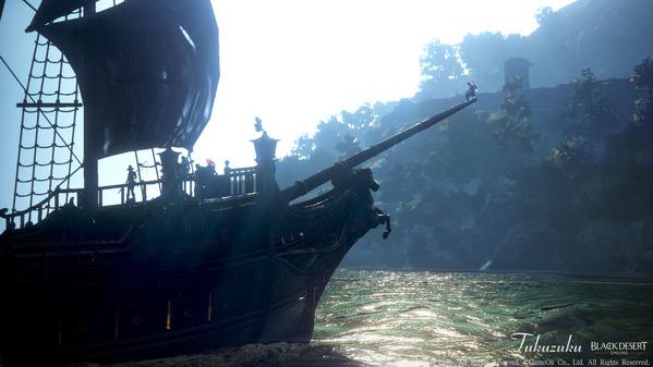 黒い砂漠 オーキルアの目 宝箱狩り重帆船ツアー16