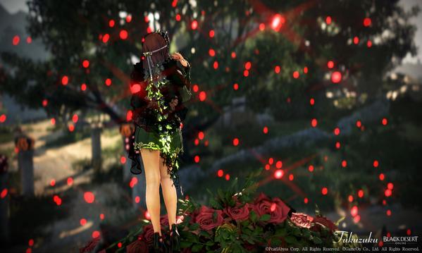 黒い砂漠 ヴァルキリー アタニス アバター ハロウィン装飾