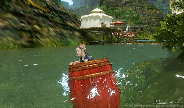 ArcheAge ロカの渓流下り