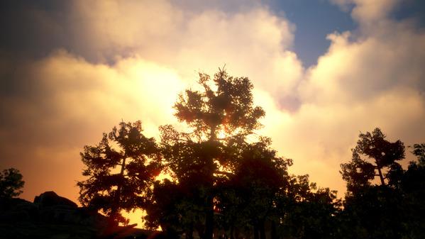 黒い砂漠 セレンディア 夕陽