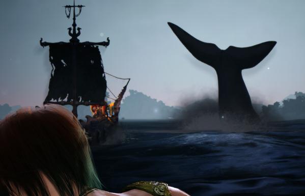 黒い砂漠 クジラ