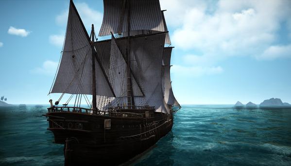 黒い砂漠 定期船 マゴリア海域