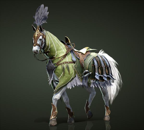 黒い砂漠 馬 装備