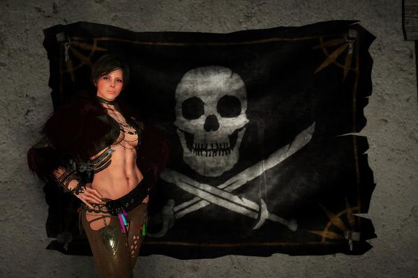 黒い砂漠 ソーサレス 海賊旗