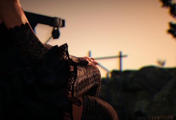 BlackDesert Valkyrie ブラッディハロウィンドレス