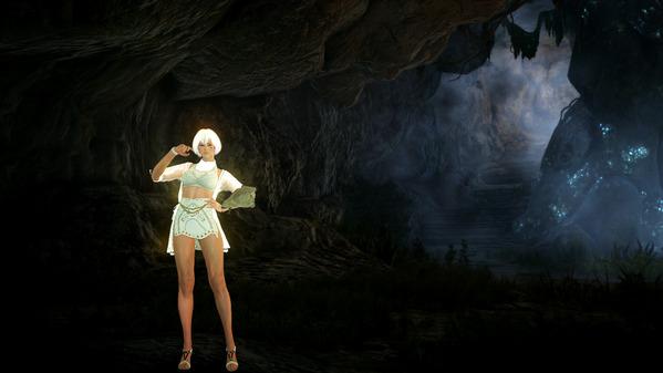 黒い砂漠 ヴァルキリー ウェイタ島 プロティ洞窟