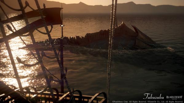 黒い砂漠 海洋モンスター