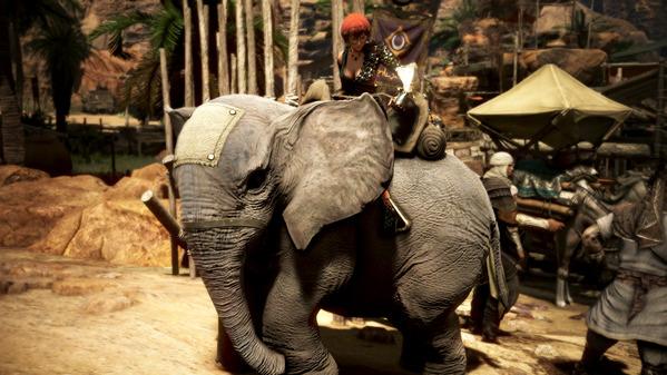 黒い砂漠 ヴァルキリー 荷車象