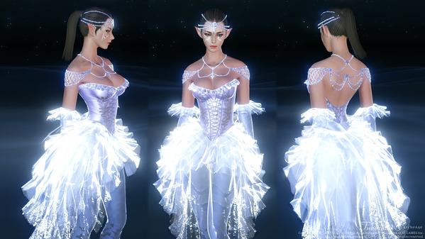 ArcheAge 届きそうな愛のドレス