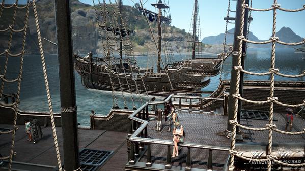 黒い砂漠 海賊エモツアー18