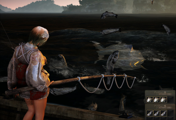 黒い砂漠 釣り カモメ ムントンクジラ